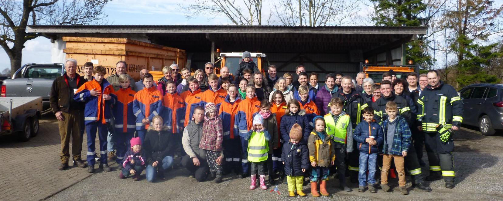 Bild von der Helfern